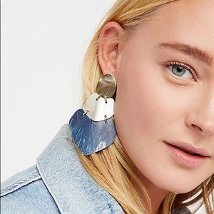 Free People Sibilia Patina Plated Earrings